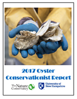 New Hampshire's Oyster Conservationist Report for the 2017 season.