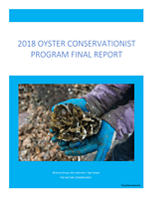 Final report for the 2018 Oyster Conservationist Program in New Hampshire