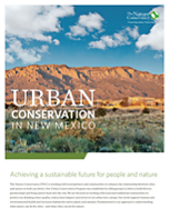 Achieving a sustainable future for people and nature in New Mexico.
