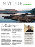 The Fall 2017 issue of a two page newsletter about The Nature Conservancy's work in Pennsylvania.