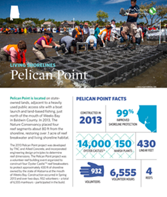 Living Shorelines project at Pelican Point