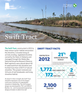 Living Shorelines project at Swift Tract