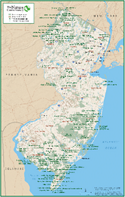 Map of New Jersey Protected Lands
