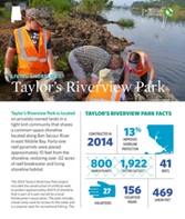 Living Shorelines project at Taylor's Riverview Park