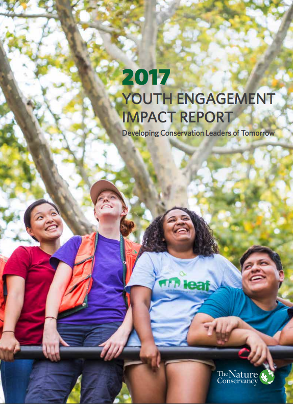 An overview of The Nature Conservancy's Youth Engagement programs in 2017.