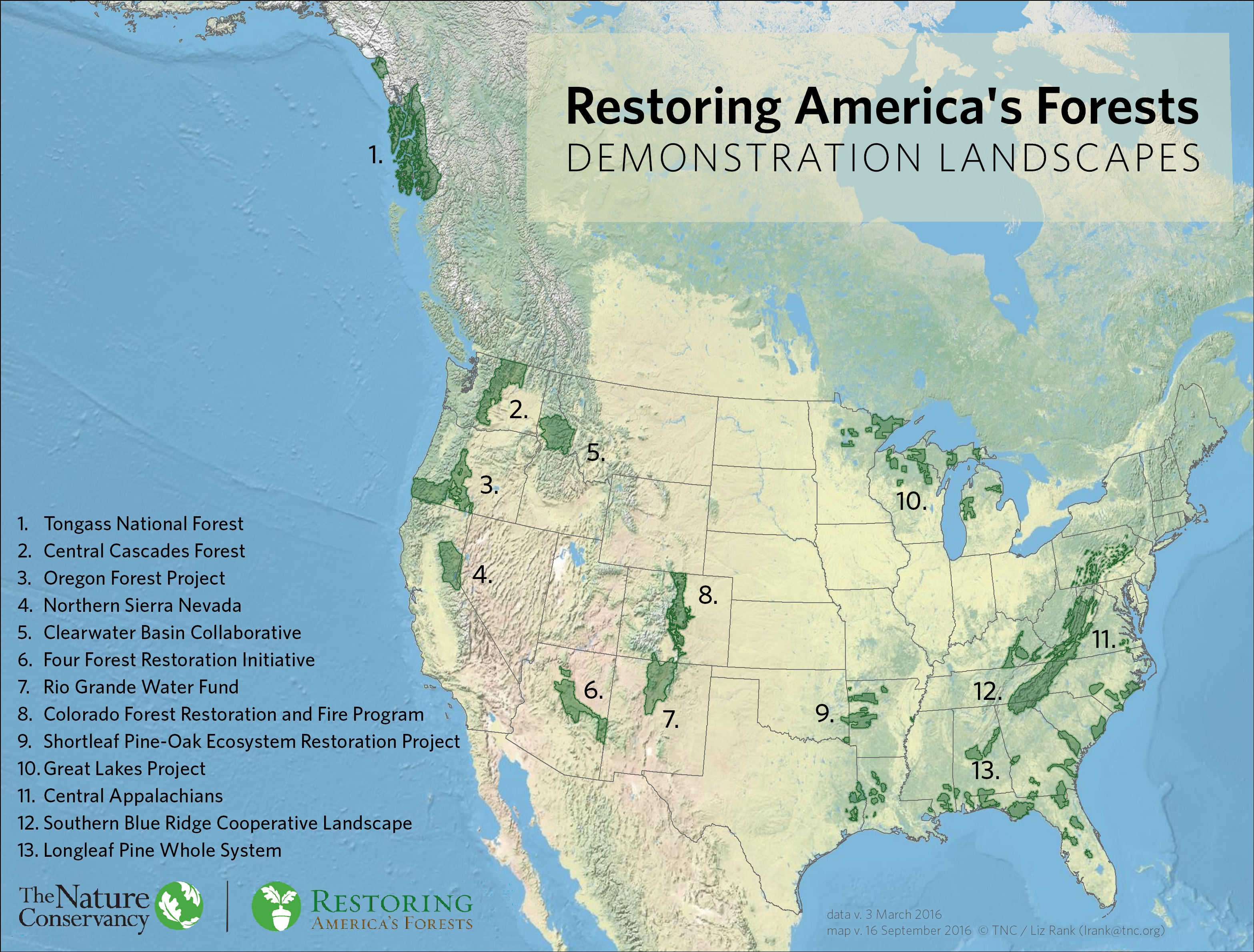 Restoring America\'s Forests