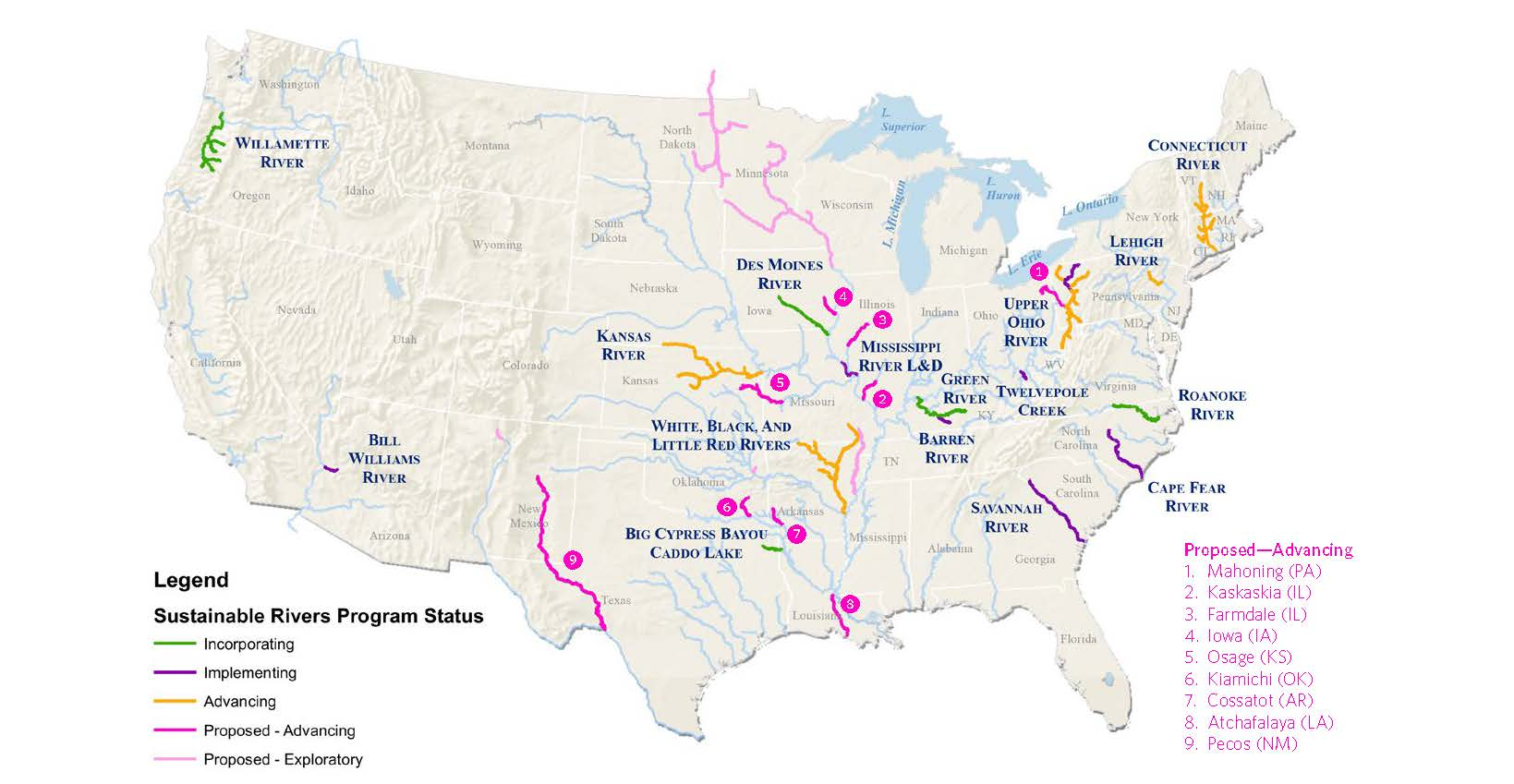 Picture of: Sustainable Rivers Project