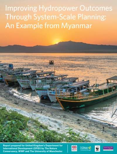 Through System-Scale Planning: An Example from Myanmar