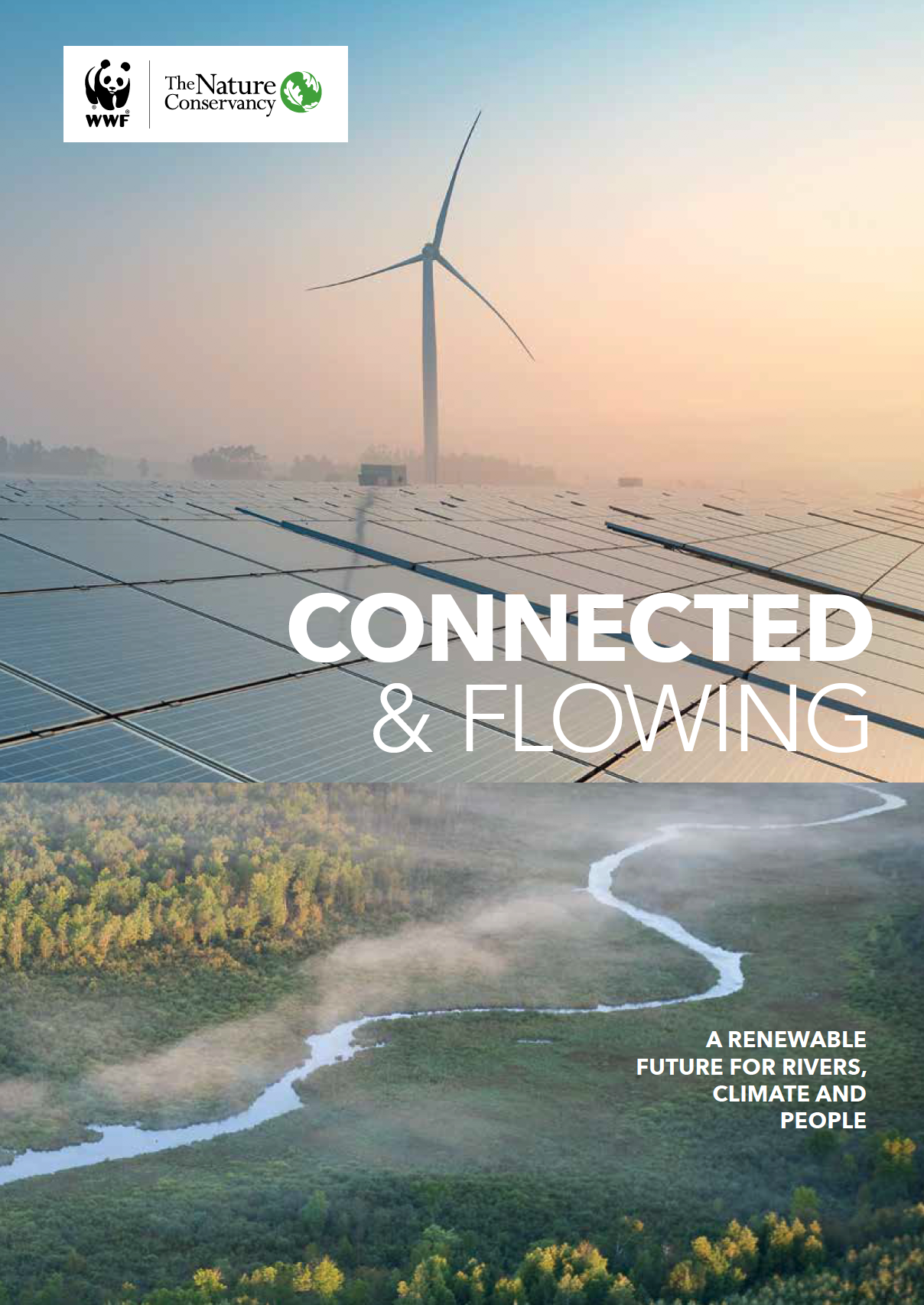 Thumbnail of Connected & Flowing report cover.