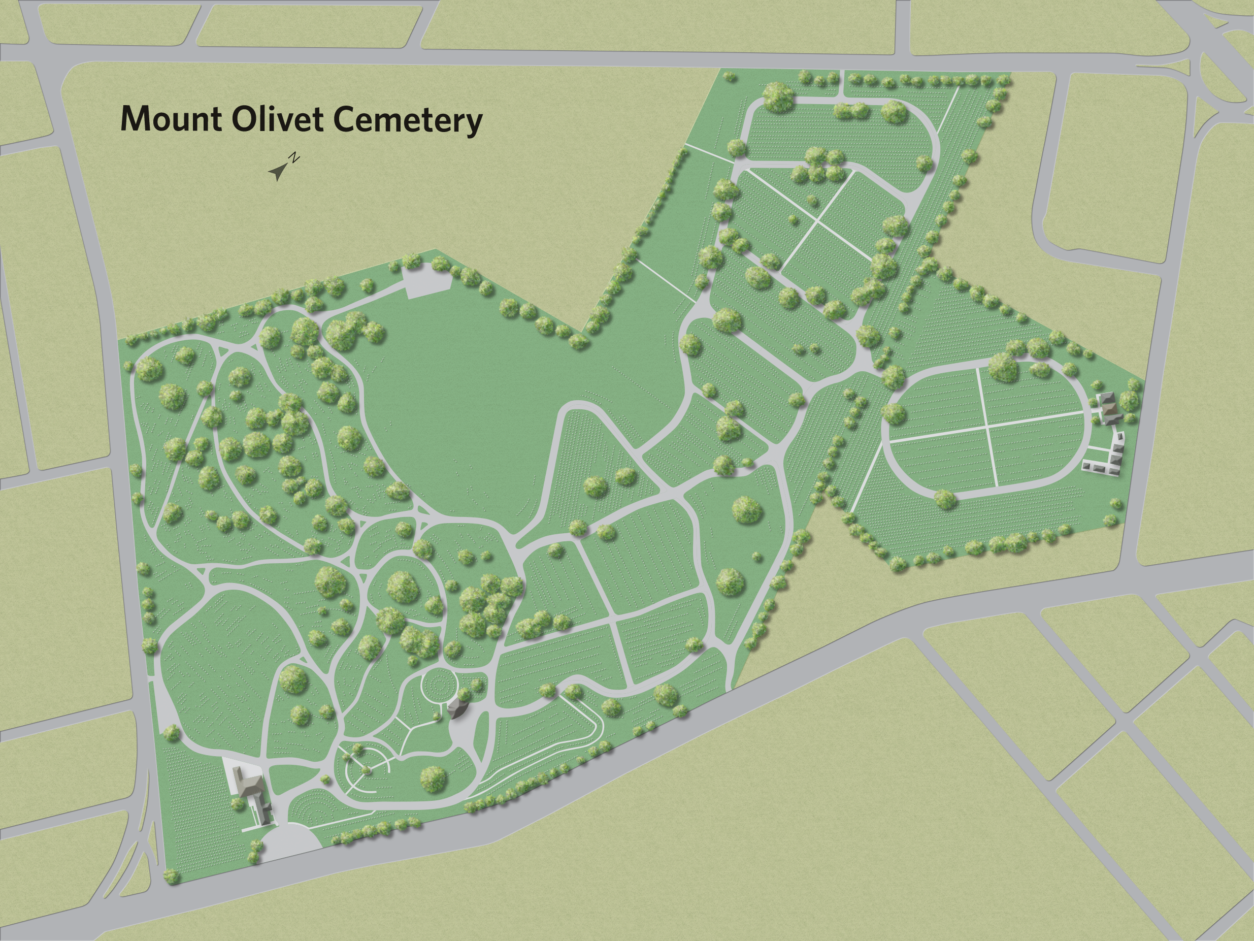 Mt. Olivet Cemetery Base Layer