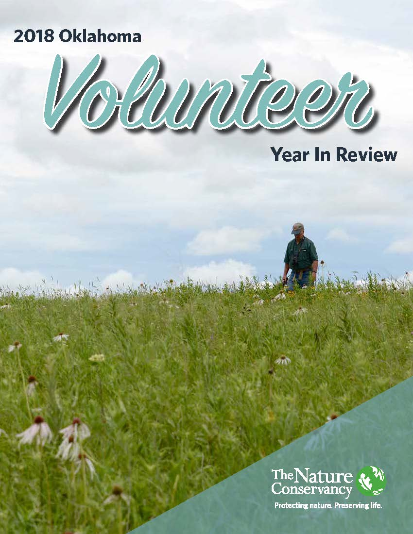 Year in review report for the volunteer program in Oklahoma.