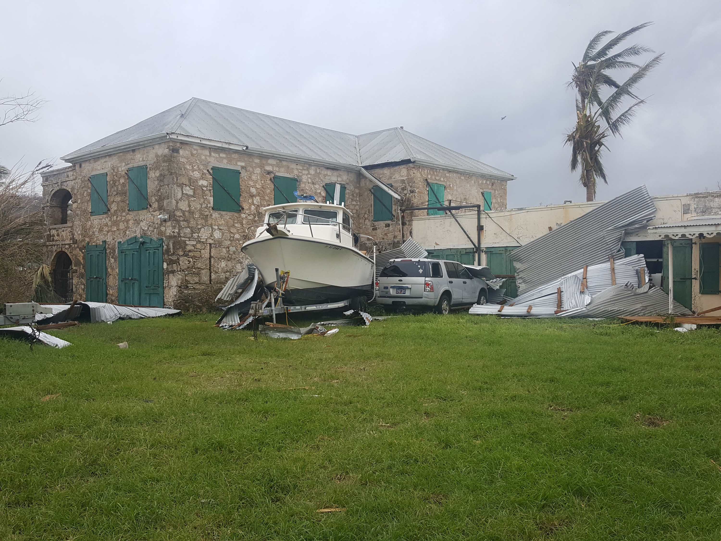 TNC's Estate Little Princess after Hurricane Maria