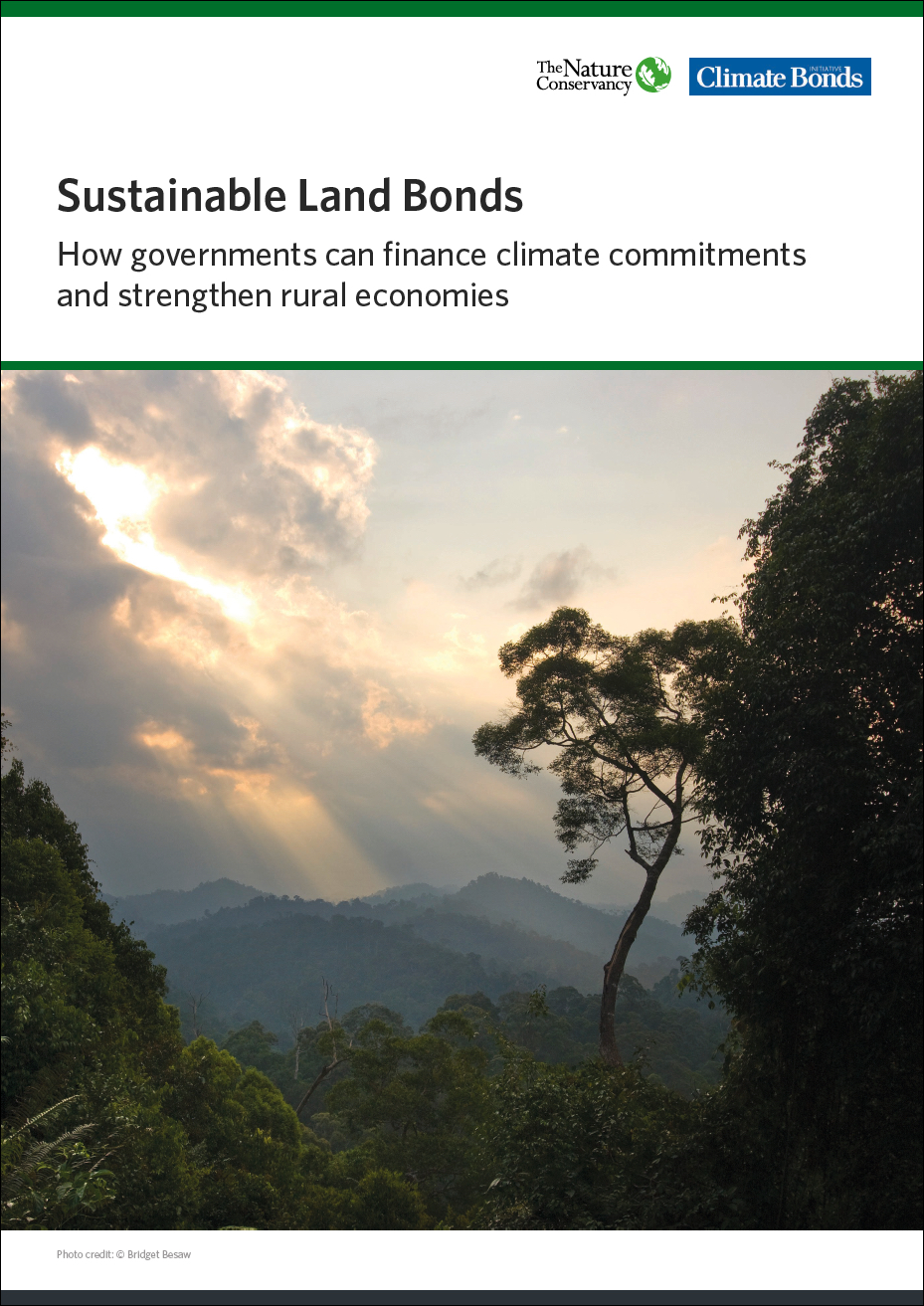 Cover of Sustainable Land Bonds