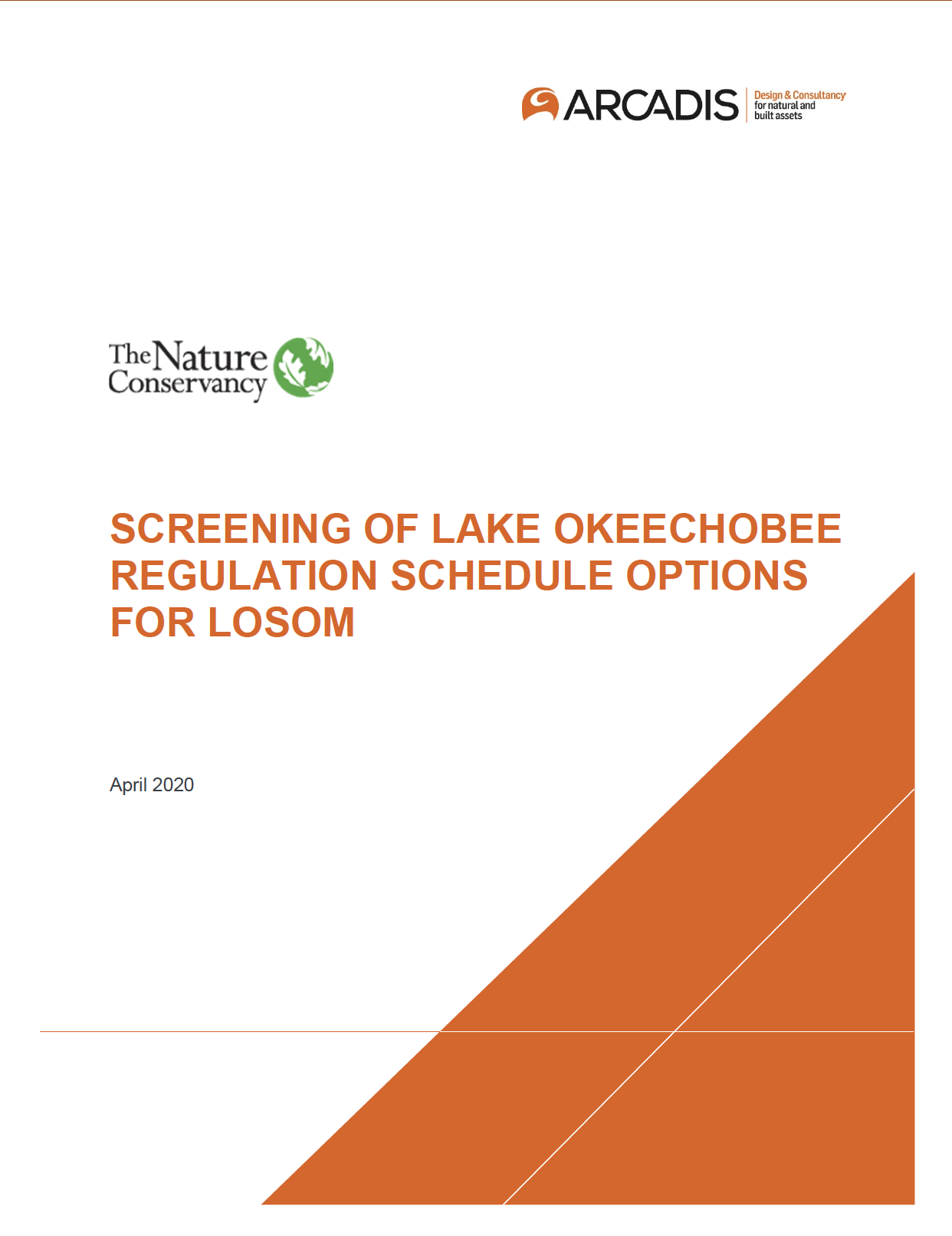 Screening of Lake O Regulation Schedule Options for LOS