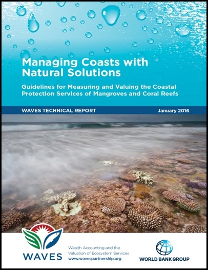 Guidelines for Measuring and Valuing the Coastal Protection Services of Mangroves and Coral Reefs.