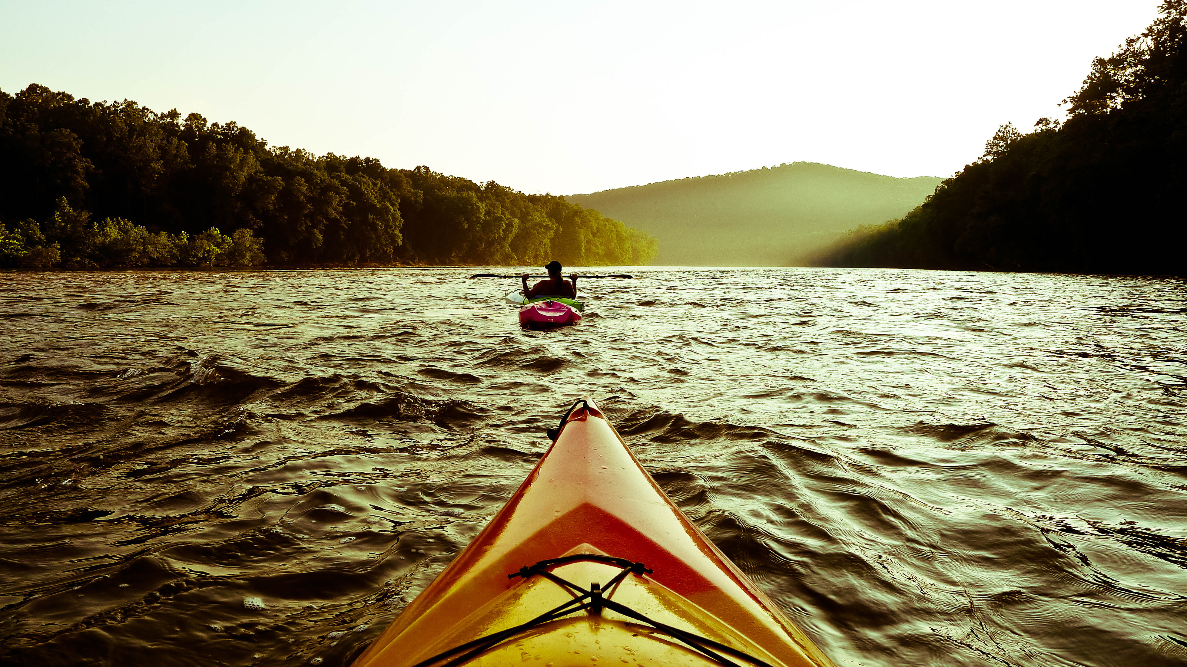 Kayaking the Delaware River