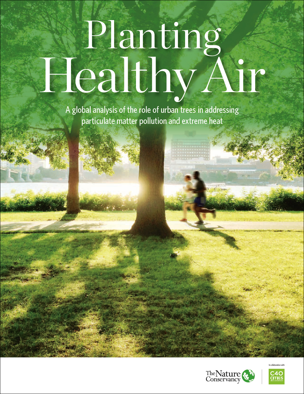Report Cover - Planting Healthy Air